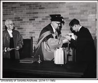 Massey College Opening ceremony, Oct 4 1963