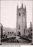 Soldiers' Tower - Dedication of Carillon, Oct. 9 1927