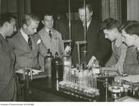 Student Mining Engineers in laboratory, University of Toronto
