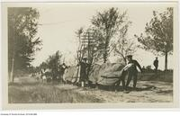 """The Flu Germ"" Niagara on the Lake. Sept 1918"