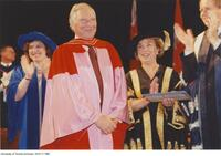 Joseph L. Rotman, honorary degree recipient
