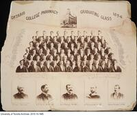 Ontario College of Pharmacy, Graduating Class, 1894