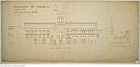 University of Toronto [University College] - Drawing No.6 Quad Elevation South