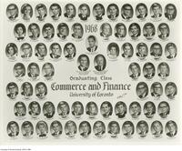 1968 Graduating Class, Commerce and Finance University of Toronto