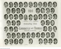 1969 Graduating Class, Commerce and Finance University of Toronto
