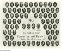 1973 Graduating Class, Commerce and Finance University of Toronto