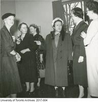 Kathleen Russell with group of nursing colleagues