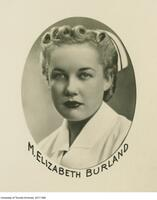 M. Elizabeth Burland, Graduate of the Class of 1941, School of Nursing