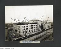 Construction of the Fort Gary Terminal Station