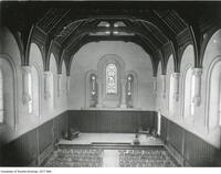 Memorial Window in Old Convocation Hall pre 1890