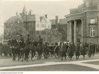 Col. Lang's funeral procession, Nov 23 1925