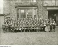 COTC University of Toronto contingent, in front of 184 College St., 1924