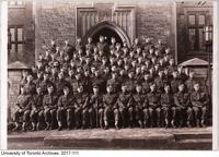 Officers of the COTC University of Toronto contingent, 1941-42