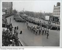 Toronto War Savings Parade, November 22 1941