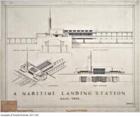 A Maritime Landing Station RAIC 1935