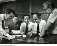 Faculty of the Institute of Aerospace Studies tasked with assisting the Apollo 13 mission.