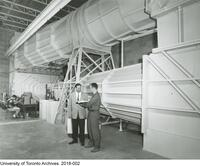 Institute of Aerospace Studies - Subsonic wind tunnel