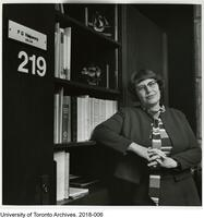 Francess G. Halpenny in her office