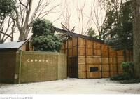Closed Canada Pavilion at the Venice Biennale VI International Exhibition of Architecture