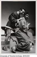 A scene from Othello, performed by Hart House Theatre, February 25 - March 4th 1950.