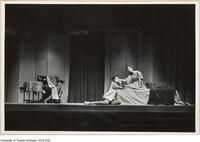 A scene from Romeo and Juliette, performed by Hart House Theatre, Feb 26 - March 8 1948
