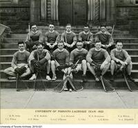 University of Toronto Lacrosse Team, 1922