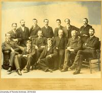 First Graduating Class, Faculty of Applied Science, 1892-93