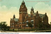 Postcard titled: Harbord Collegiate Institute, Toronto, Canada