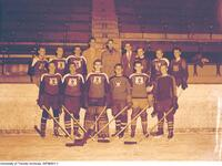 Intramural Men's Hockey - Meds Senior Team, 1948-1949