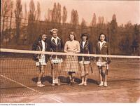 Intercollegiate Women's Tennis, Varsity Team, 1947-1948