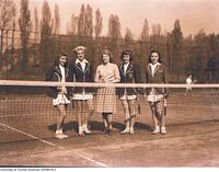 Intercollegiate Women's Tennis - Varsity Team, 1947-1948
