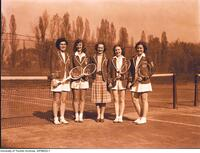 Intercollegiate Women's Tennis, McGill's Team, 1947-1948