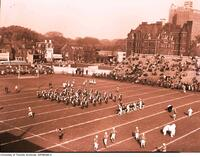 Varsity Blues Football Game, Varsity vs McGill