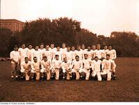 Varsity Blues Football Team. 1949-1950