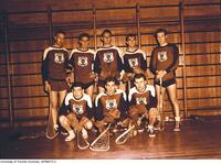Intramural Men's Lacrosse: Meds I Team, Dafoe Cup winners, 1948-1949