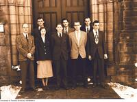 Canadian Association of Medical Students and Interns, members of the Executive, 1949-50
