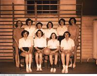 Intramural Women's Basketball - Occupational Therapy Basketball Team, 1949-1950